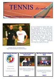 Mini-Cup-Serie Bezirk West 2010/2011 - Tennisverband Schleswig ...