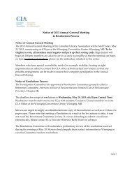 Notice of 2013 Annual General Meeting & Resolutions Process