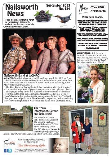 Issue 134 Sept 2013 - Nailsworth News