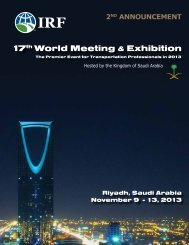 17th World Meeting & Exhibition - Plataforma Tecnológica Española ...