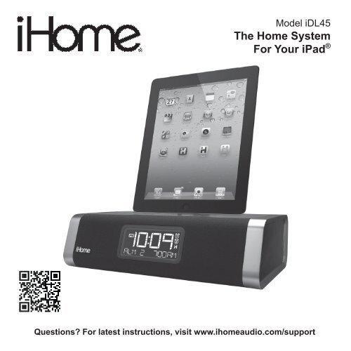 iDL45 User Manual - iHome