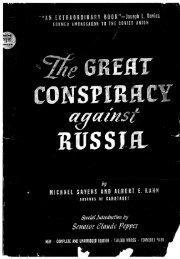 HIST 3750 Great Conspiracy Against Russia.pdf - Saginaw Valley ...