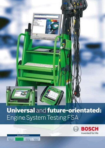 Universal and future-orientated: Engine System Testing FSA