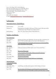 CV, Publikationsliste Rieken Stand Juni 2007