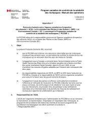 PDF (36 ko ) - Agence canadienne d'inspection des aliments