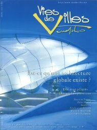 Vies de villes vol.11 (PDF, 696 KB) - 3LHD architects