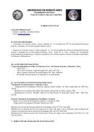 Curriculum Vitae - Grupo de geofísica Aplicada y ambiental