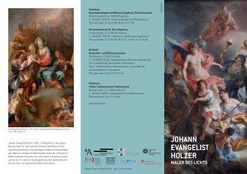 folder j.e.holzer augsburg.indd - Thomas Wiercinski, Kunsthistoriker