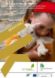 Tiere lassen Stadtmenschen aufblühen! Tiergestützte ... - Green Care