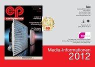 Media-Informationen - Elektropraktiker