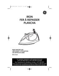 IRON FER À REPASSER PLANCHA - GE :: Housewares