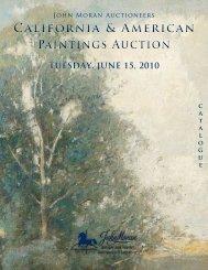 California & American Paintings Auction California & American ...