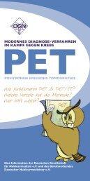 Wie funktionieren PET & PET/CT? - Deutsche Gesellschaft für ...
