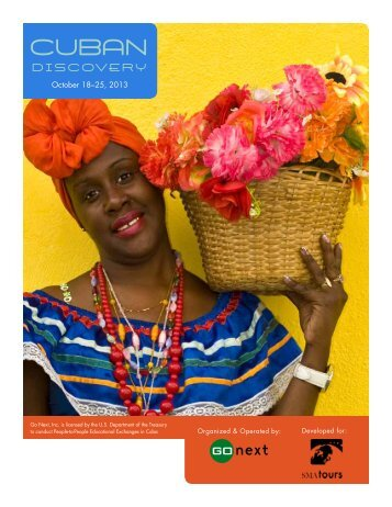 Cuban Discovery Brochure - SMA Tours