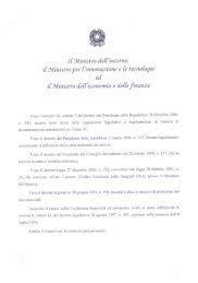 Le regole tecniche per la Carta nazionale dei - Interlex