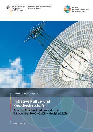 PDF: 3,8 MB - Initiative Kultur- und Kreativwirtschaft