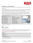 Manufacturer's certification statement - Velux - Page 2