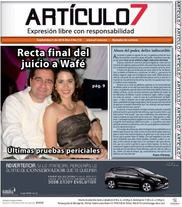 Publicación No. 118 - a7.com.mx