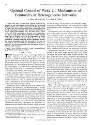 Optimal Control of Wake Up Mechanisms of Femtocells in ...