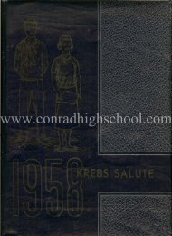 KREBS 1958 Year Book - Henry C. Conrad High School
