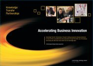 Business Brochure - Knowledge Transfer Partnerships