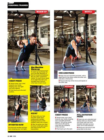 The War Machine Workout - Men's Fitness Magazine