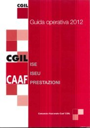 Guida ISE ISEEU PRESTAZIONI - Cgilpaservizi.it