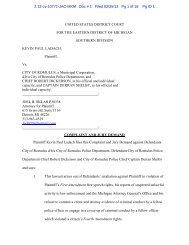 Romulus Police Chief Dickerson lawsuit.pdf - MLive.com