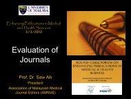 Evaluation of Journals.pdf - Akademi Sains Malaysia