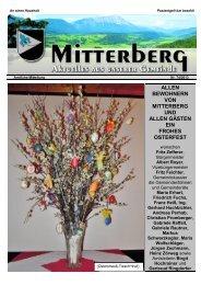 Gemeindezeitung Ostern 2013 - Mitterberg