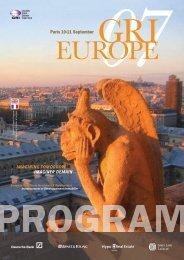 Paris 10-11 September - Global Real Estate Institute
