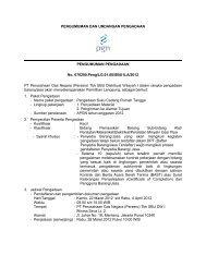 PENGUMUMAN DAN PENGUMUM No. 0702 PT Perusahaan ... - PGN