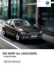 DIE BMW er LIMOUSINE.