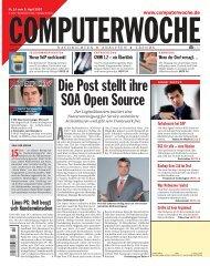Die Post stellt ihre SOA Open Source