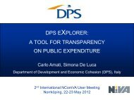 dps explorer: a tool for transparency on public expenditure