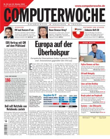 Europaauf der Überholspur