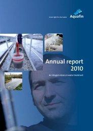 Annual report 2010 - Aquafin