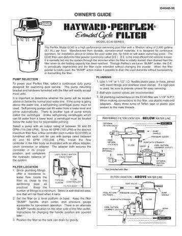 Perflex Parts Diagrams Hayward