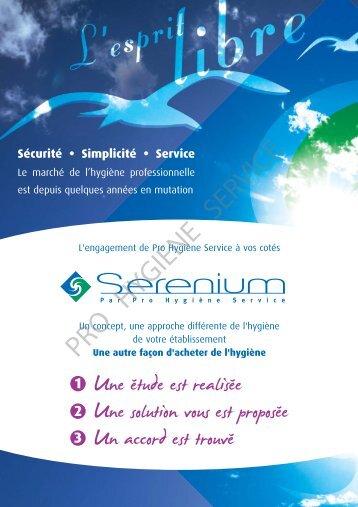 Serenium plaquette 4 - pro hygiene service