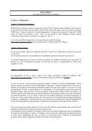 le Règlement - BNP Paribas