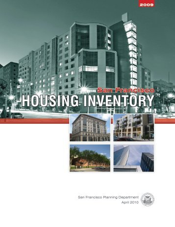 San Francisco HOUSING INVENTORY - South of Market  Area ...