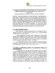 (Bourail, Nouvelle-Calédonie). Dynamique et ... - Paralia.fr