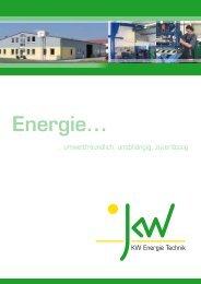 Download KWE-Infomappe.pdf - Solar-Partner Süd