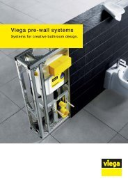 Brochure Viega Pre-wall Systems- Systems for creative bathroom ...
