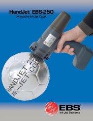 HandJet® EBS-250 - Marsh Micro Systems