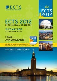 ECTS 2012