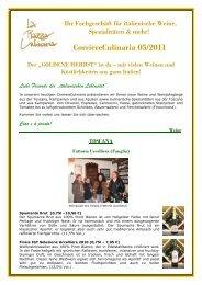 CorriereCulinaria 05-2011 - La Piazza Culinaria