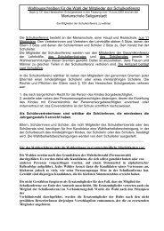 zum Wahlausschreiben - Merianschule Seligenstadt