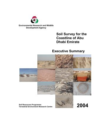 Soil Survey for the Coastline of Abu Dhabi Emirate Executive ...