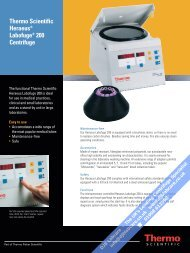 Thermo Scientific Heraeus® Labofuge® 200 Centrifuge - DJB Labcare